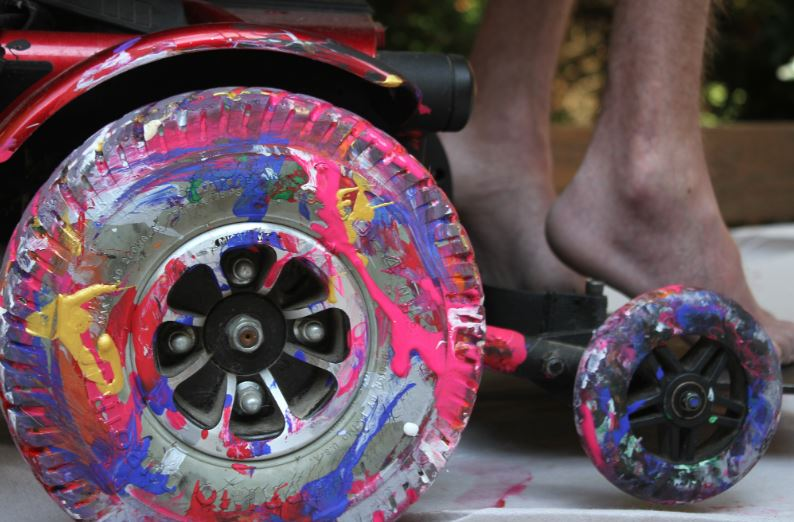 How To Paint A Wheelchair Like A Pro